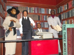 Blacks in Wax, Writer's