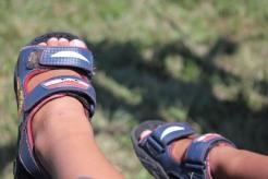 Little feet, lots of fun