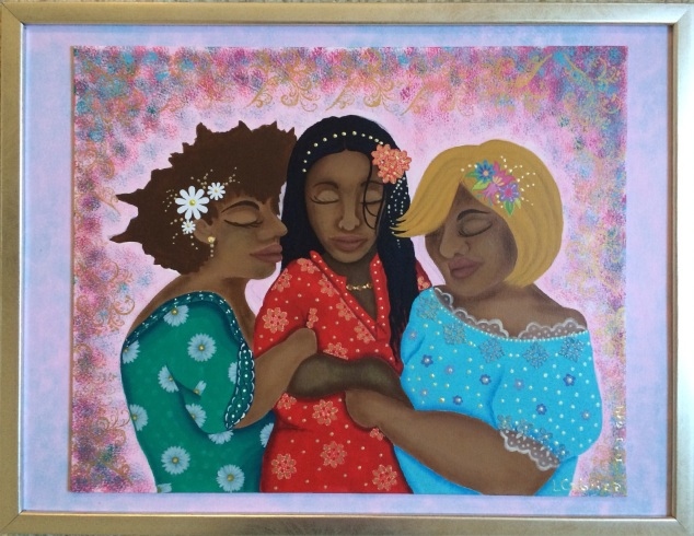 Nicki, Angela and Sissy